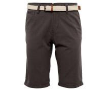 Shorts braun / taupe / weiß