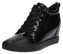 Wedge-Sneaker 'ritzy' schwarz