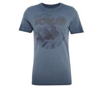 T-Shirt 'JOREscape' dunkelblau