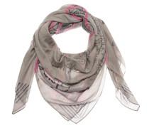 Tuch pink / schwarz / beige / grau