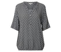 Blusenshirt schwarz / mischfarben