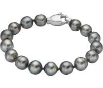 Armband '87523373' dunkelgrau / silber