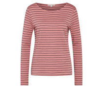 Shirt altrosa / schwarz