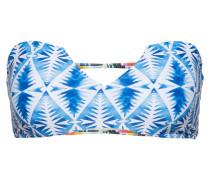 Bikinitop 'beach Bazaar' blau