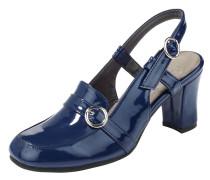 Slingpumps blau
