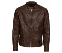 Lederjacke 'Richard Clean Leather Jacket'