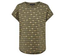 T-Shirt 'helmer' grün
