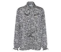 Shirt 'woven Shirt W BOW T' schwarz