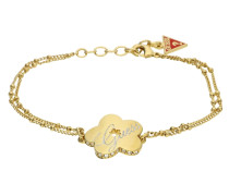 Armband 'ubb11105' gold / rot
