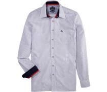 Trachtenhemd in schmaler Form