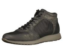 Sneaker greige / schwarz