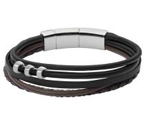 Armband »Jf02212040« dunkelbraun / schwarz