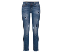 Jeans 'b.up Ideal Reg.w.' blue denim