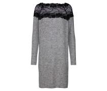 Kleid 'vmcima Lace LS Dress' hellgrau