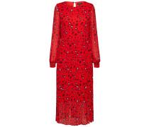 Kleid rosa / rot / schwarz