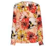 Bluse 'Blouse with big flower allover' mischfarben
