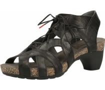 Sandalen/Sandaletten schwarz
