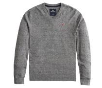 Pullover 'bts19-Fg Core Vneck 3Cc' grau