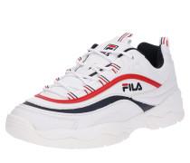 Sneaker 'Ray Low' nachtblau / rot / weiß