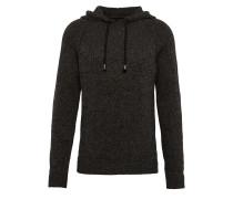 Pullover 'hood String Knit' anthrazit