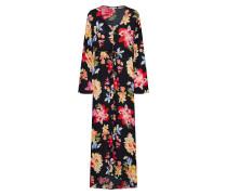 Kleid 'Desi Kimono' schwarz