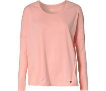 Oversize-Shirt 'core LS Tee' lachs
