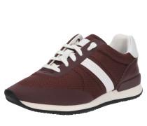 Sneaker 'Adrienne' bordeaux / naturweiß