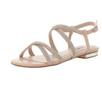 Sandale 'neevie' nude / rosa / silber
