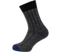 Socken basaltgrau / schwarz
