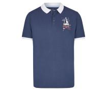Polo navy / weiß