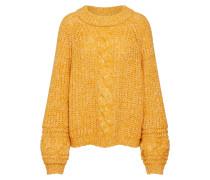 Pullover 'Zia' dunkelgelb