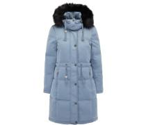 Mantel rauchblau