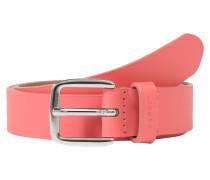 Ledergürtel pink