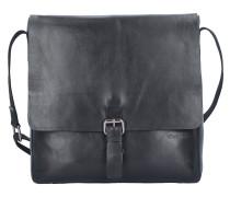 'Scott' Messenger Tasche Leder 30 cm Laptopfach