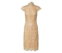Kleid 'rivet' gold