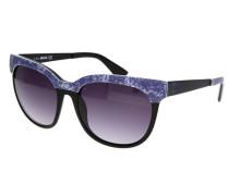 Sonnenbrille aubergine / schwarz