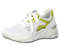 Sneaker silber / weiß / gold