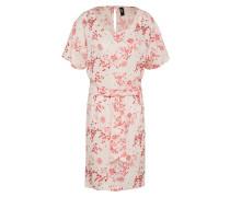 Kleid 'butterfly' pink / weiß