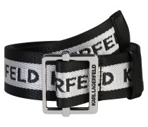 Gürtel 'karl logo webbing belt'