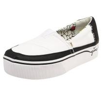 Sneaker 'alpargata Boardwalk' schwarz / weiß