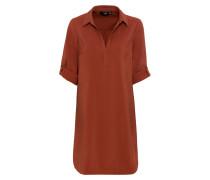 Kleid rot / kupfer