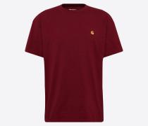 Shirt 's/s Chase T-Shirt' weinrot