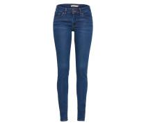 '711' Skinny Jeans blue denim