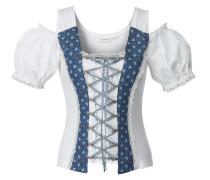 Shirt Tropea blau / weiß