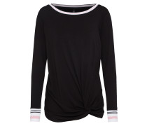 Shirt 'Wong' schwarz
