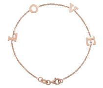 Armband 'Love' rosegold
