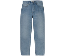 Jeans Page Carrot Ankle blau