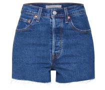 Shorts 'ribcage' blue denim