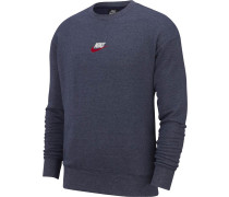 Sweater ' Heritage ' dunkelblau / blaumeliert