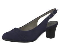 Sling-Pumps nachtblau